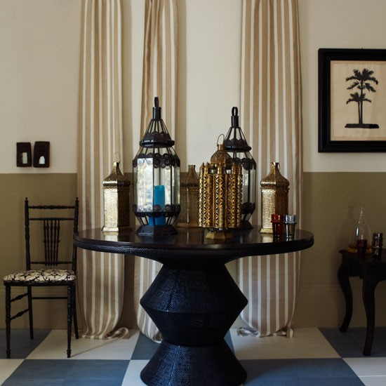 Moroccan Dining Room Decorating Ideas Image