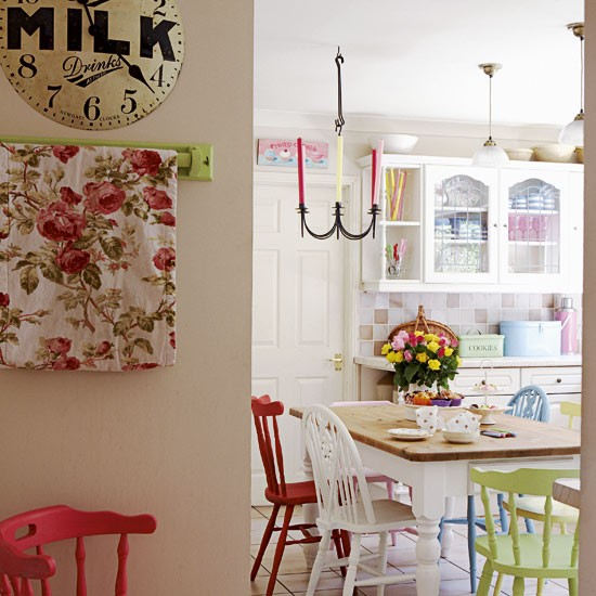 kitchen-diner - Vintage country home - country decorating ideas - decorating inspiration - image - housetohome.co.uk