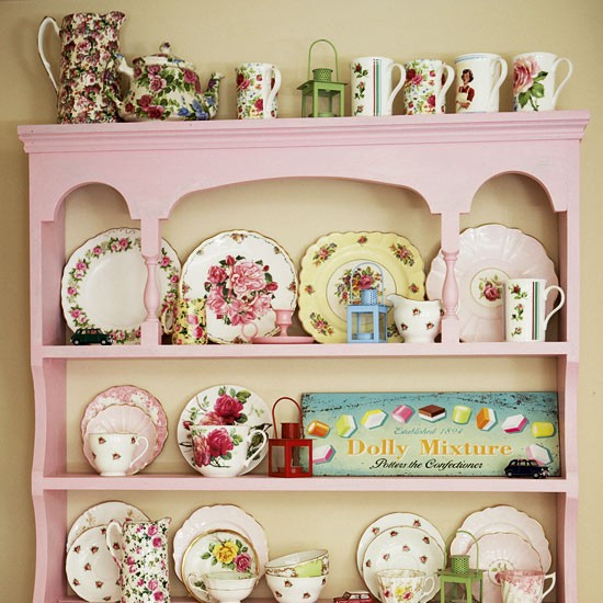 plates - Vintage country home - country decorating ideas - decorating inspiration - image - housetohome.co.uk
