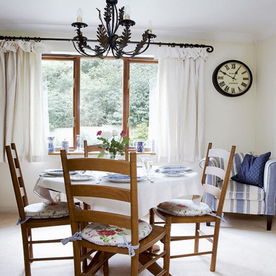 dining room - Vintage country home - country decorating ideas - decorating inspiration - image - housetohome.co.uk