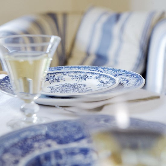 chinaware - Vintage country home - country decorating ideas - decorating inspiration - image - housetohome.co.uk