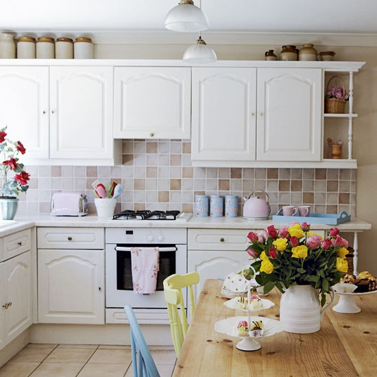 kitchen - Vintage country home - country decorating ideas - decorating inspiration - image - housetohome.co.uk
