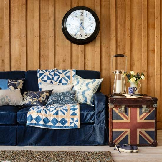 Textured living room | Decorating ideas | Image | Housetohome.co.uk