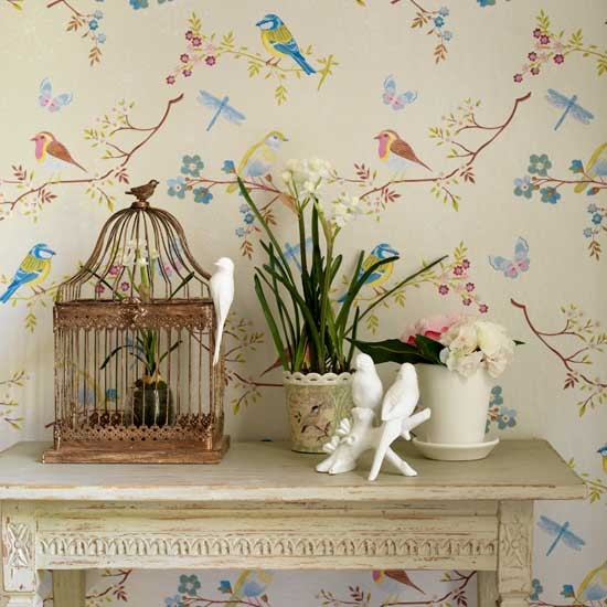 Trailing wallpaper | Decorating ideas | Design ideas | Image | Housetohome