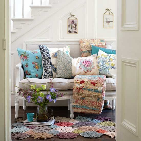 Floral hallway | Hallway | Decorating ideas | Image | Housetohome