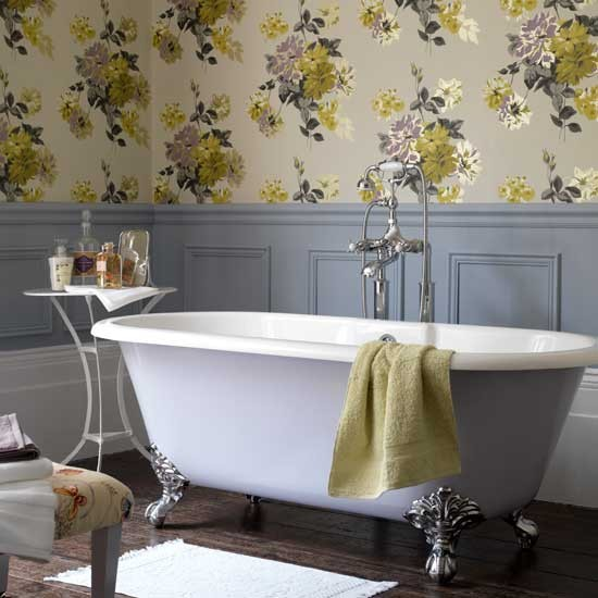Floral bathroom | Bathrooms | Design ideas | Image I Housetohome
