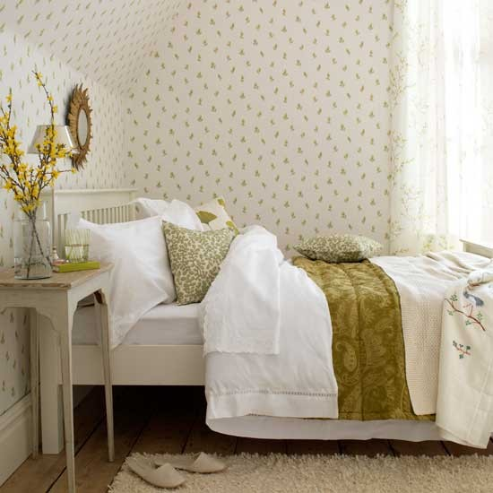 floral bedroom decorating ideas wallpaper