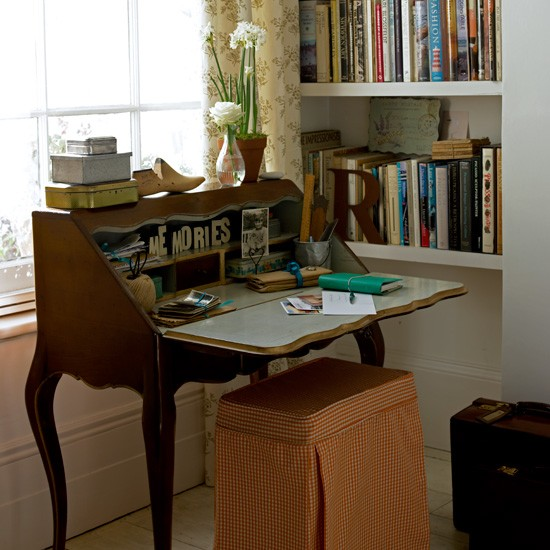 Vintage-style home office | Decorating ideas | Image | Housetohome