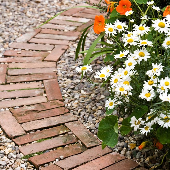 Create an attractive feature in your garden with a well-planned garden path