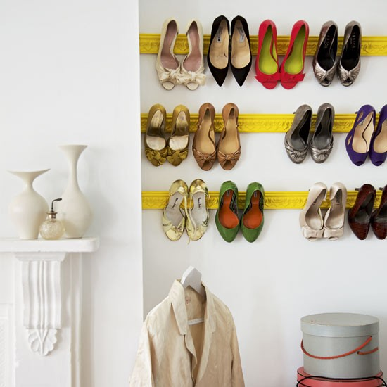 Make a feature out of your shoes with mouldings