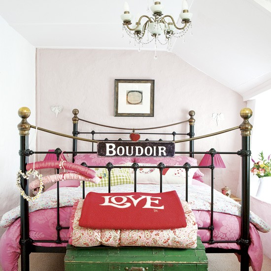 Pink bedroom | Bedroom designs | Image | Housetohome