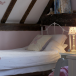 Child's attic bedroom for girl's