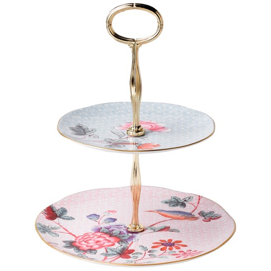 wedgwood cuckoo 2 tier cake stand from john lewis cake. Black Bedroom Furniture Sets. Home Design Ideas