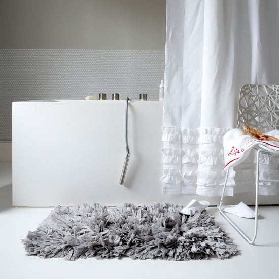 pick wow factor textiles get designer bathroom style for less