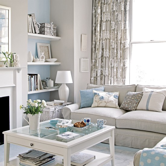 Pastel living room | Decorating ideas | Image | Housetohome.co.uk