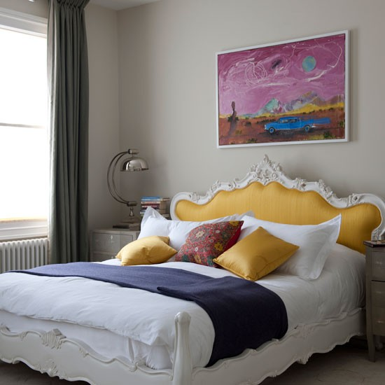 Colourful Bedroom Bedroom Designs Eclectic Bed
