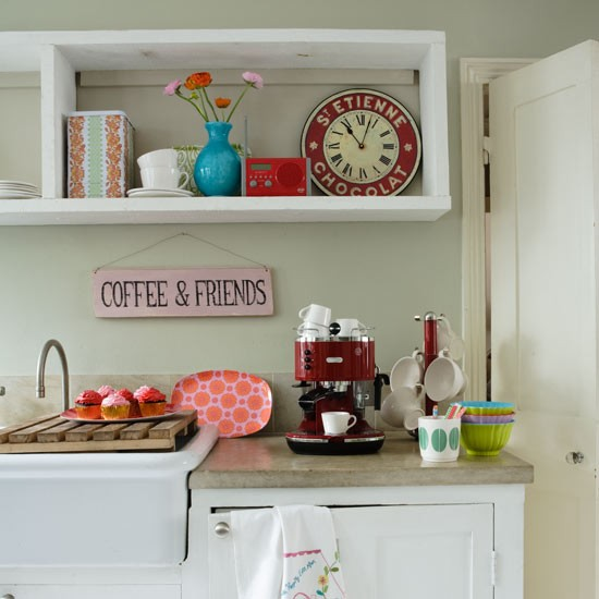 Jazzy shelf space | Country kitchen accessories | Country kitchens ...