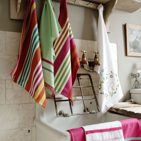 Stunning stripes | Country kitchen accessories | Country kitchens ...