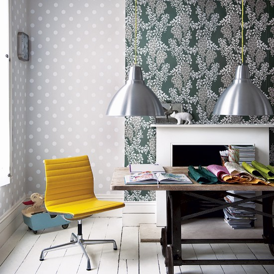 Decorating with pattern | Home office | Design ideas | Image | Housetohome