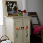 Stencilled cabinet | Spring colours | Image | Housetohome