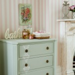 Stencilled bathroom cabinet | Bathrooms | Design ideas | Image | Housetohome