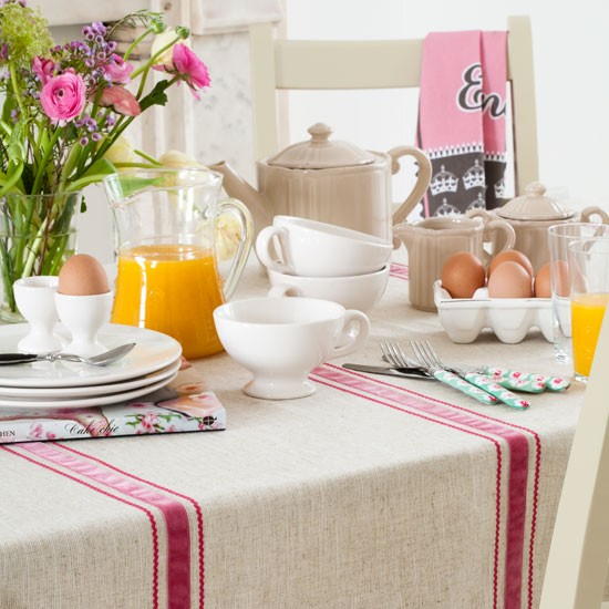 Country Breakfast Table Dining Ideas Image