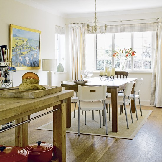 Modern-country kitchen-diner | Kitchen-diner | Image | Housetohome