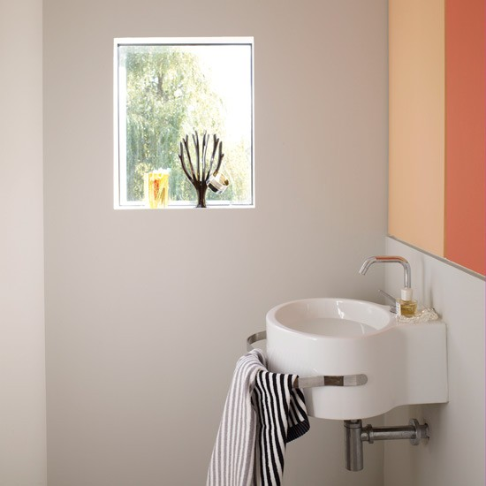 Small wc decorating ideas cloakroom splashback ideas - Decor wc ...