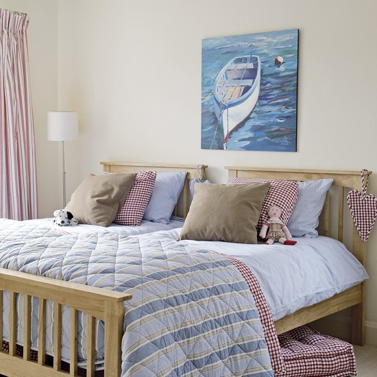 Coastal guest bedroom | Bedroom ideas | Image | Housetohome