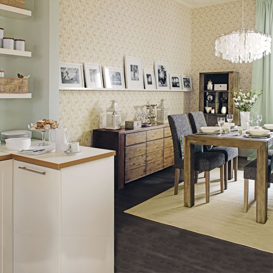Elegant dining room dining rooms decorating ideas for Dining room decorating ideas