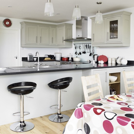 Modern kitchen-diner  Kitchens  Decorating ideas  housetohome.co.uk