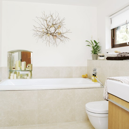 Natural bathroom bathrooms decorating ideas for Bathroom storage ideas john lewis