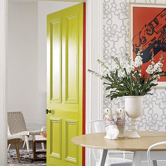 Bold hallway | Hallways | Image | Housetohome