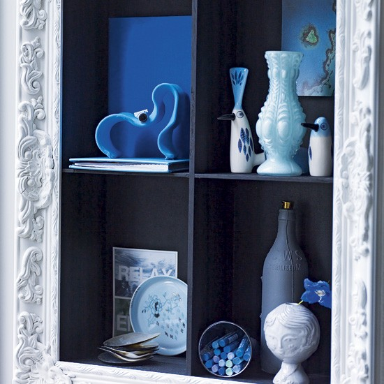 Framed display | Shelving unit | Hallways | Image | Housetohome