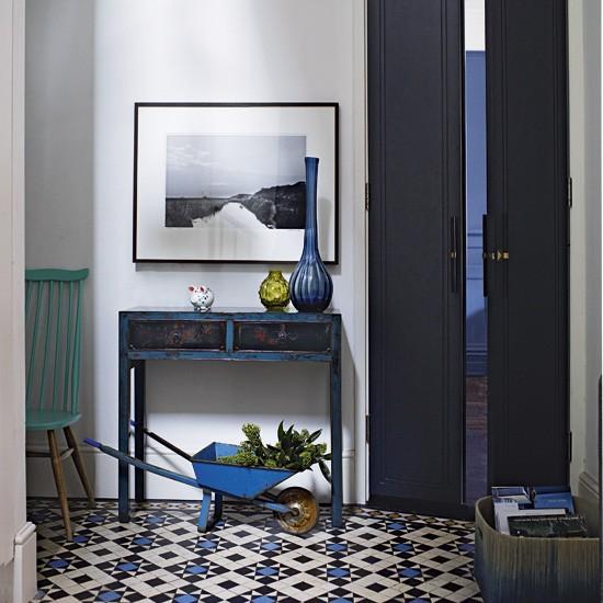 Eclectic hallway | Decorating ideas | Image | Housetohome