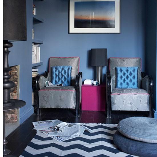 Dramatic living room   Decorating ideas   Image   Housetohome.co.uk
