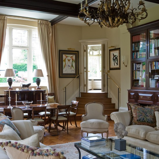 Grand open plan living room living rooms ideas image for Grand living room