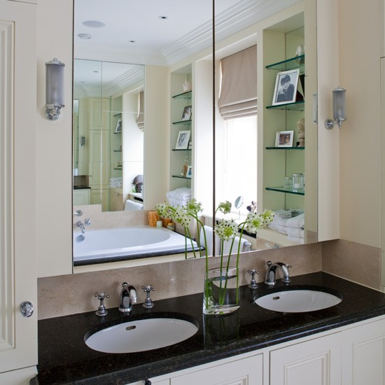 His and hers basins bathroom bathrooms decorating for His and hers bathroom