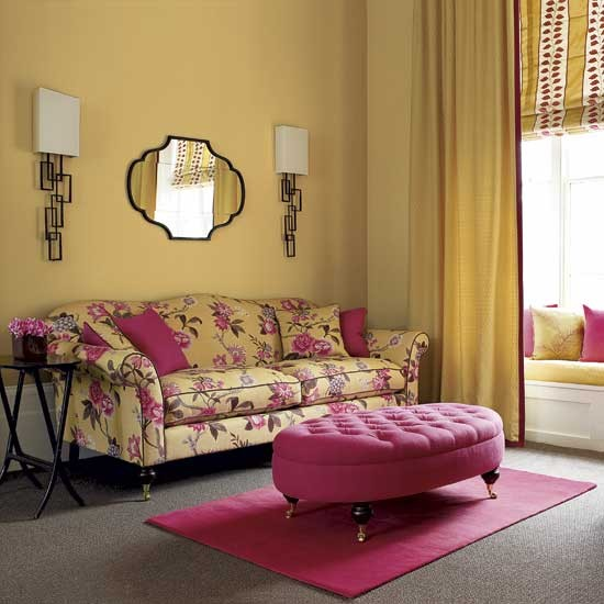 Yellow living room - decorating ideas - image - housetohome.co.uk