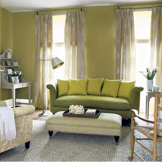 Relaxed classic living room Decorating ideas Image