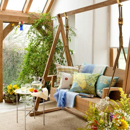 Room Chair Swing Room With Swing Seat And