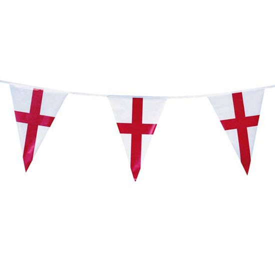 England Bunting Argos World Cup Party Ideas World
