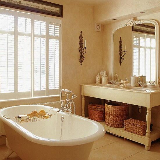 Hotel-style bathroom | Traditional bathrooms | Bathroom design ideas | PHOTO GALLERY | Housetohome.co.uk
