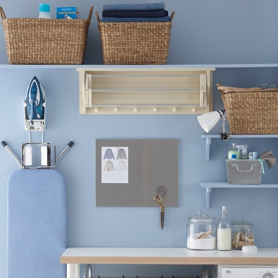 Laundry room storage | Utility rooms | laundry room design ideas | PHOTO GALLERY