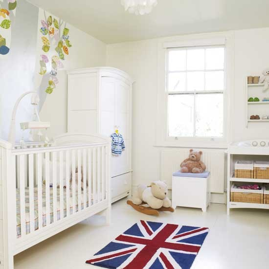 Baby room decorations uk best baby decoration for Simple nursery design