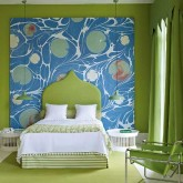 Colourful bedroom designs - 10 best