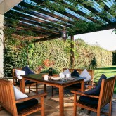 Garden decking ideas and patios