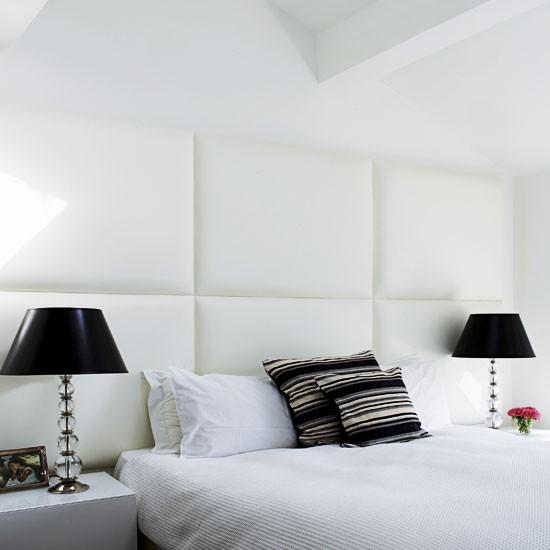 White bedroom modern bedroom minimal bedroom gallery for Simple minimalist bedroom