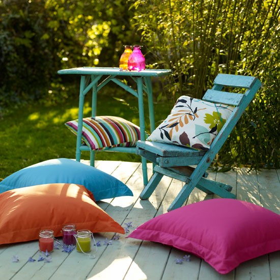 Relaxed patio | Garden patios | Image | Housetohome