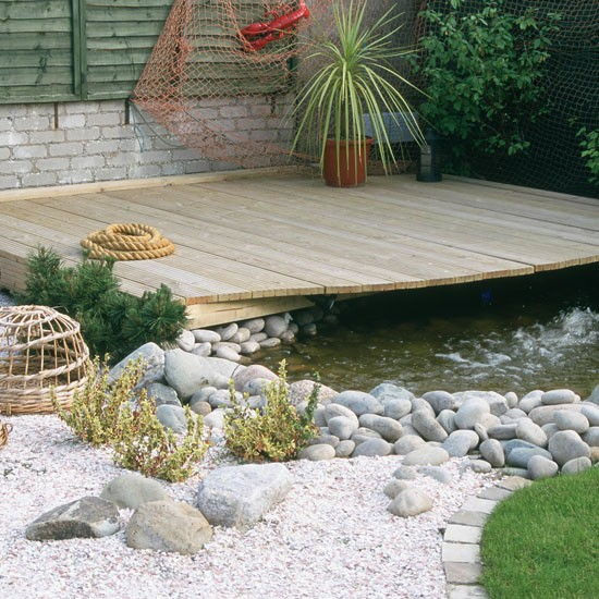 Garden Design Ideas Seaside : Nautical garden design ideas decking